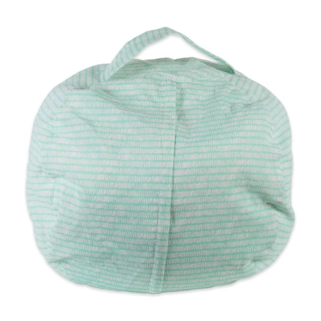 Polyester Kids Keeping Score Aqua Bean Bag