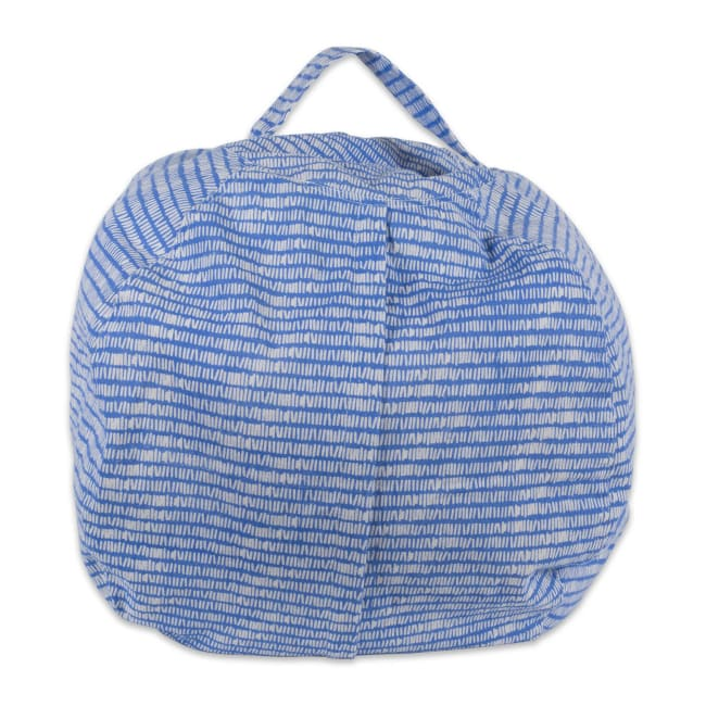 Polyester Kids Keeping Score Bright Blue Bean Bag