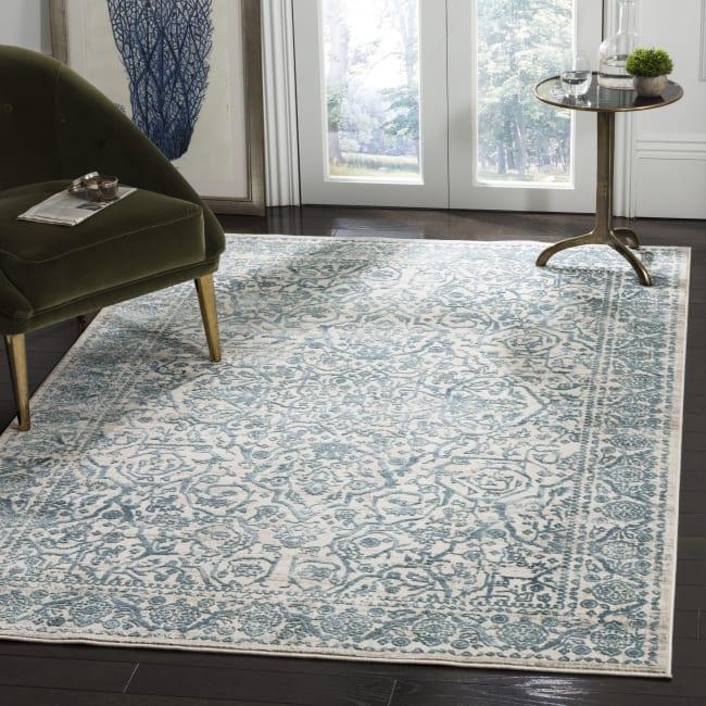 Safavieh Blue Polyester Rug