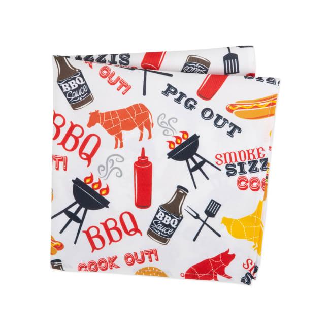 BBQ Fun Print Outdoor Napkin (Set of 6)