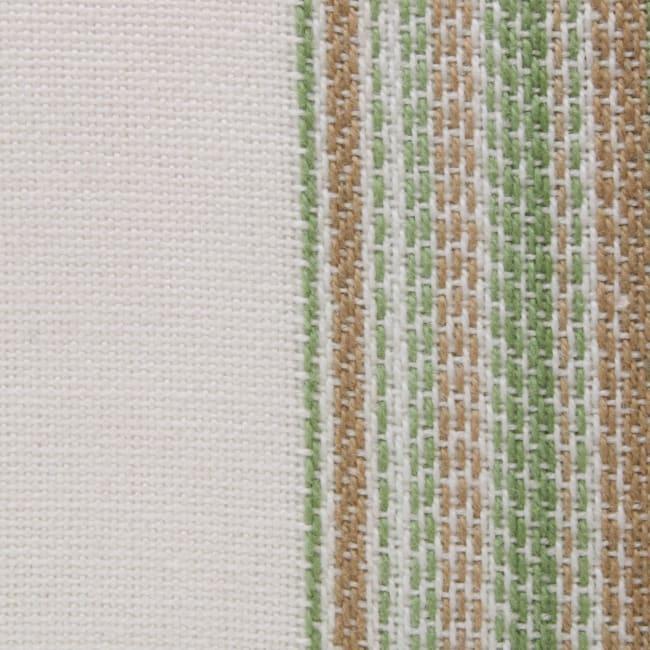 Thyme Fringed Stripe Napkins, 20x20