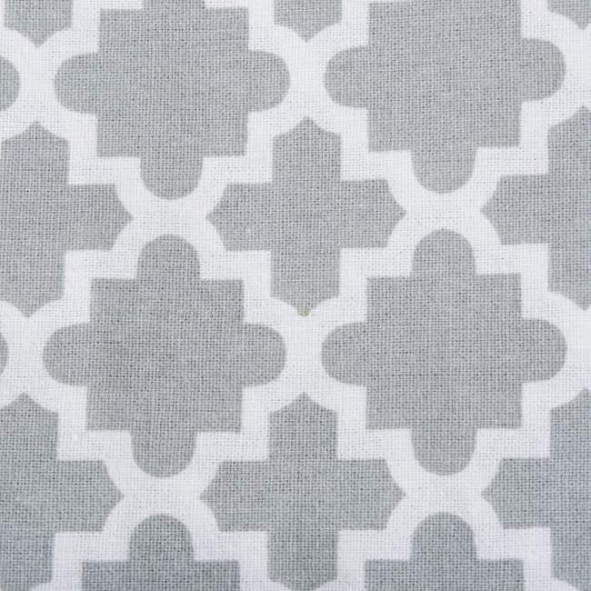 Gray Lattice Napkin (Set of 6)