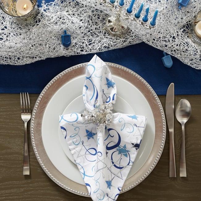 Np Print Hanukkah Swirl (Set of 6)