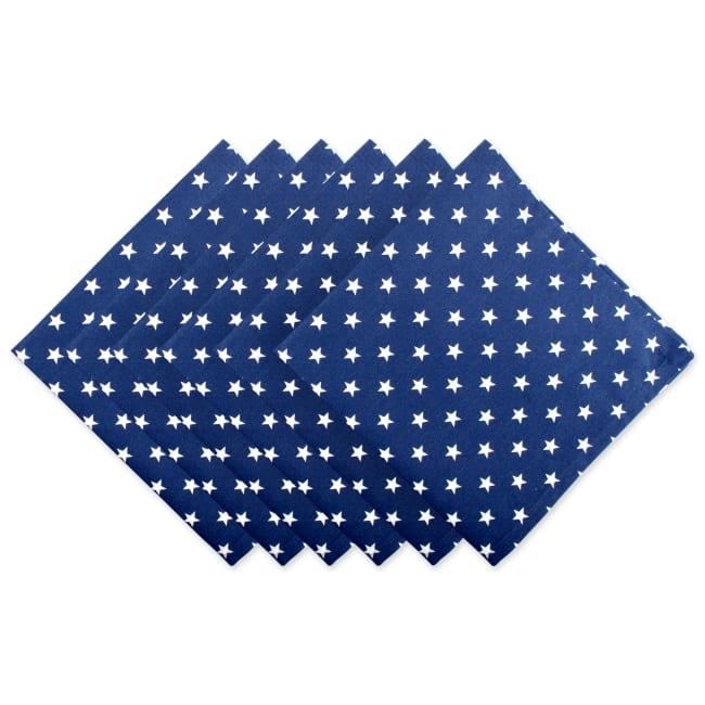 Patriotic Stars Napkin, Set of 6