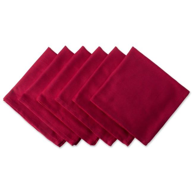 Variegated Tango Red Napkin (Set of 6)