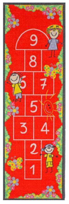 J&M Hopscotch Rug Childs Play 24x76