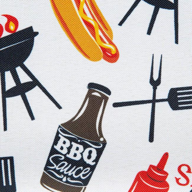 BBQ Fun Print Outdoor Tablecloth 60x84