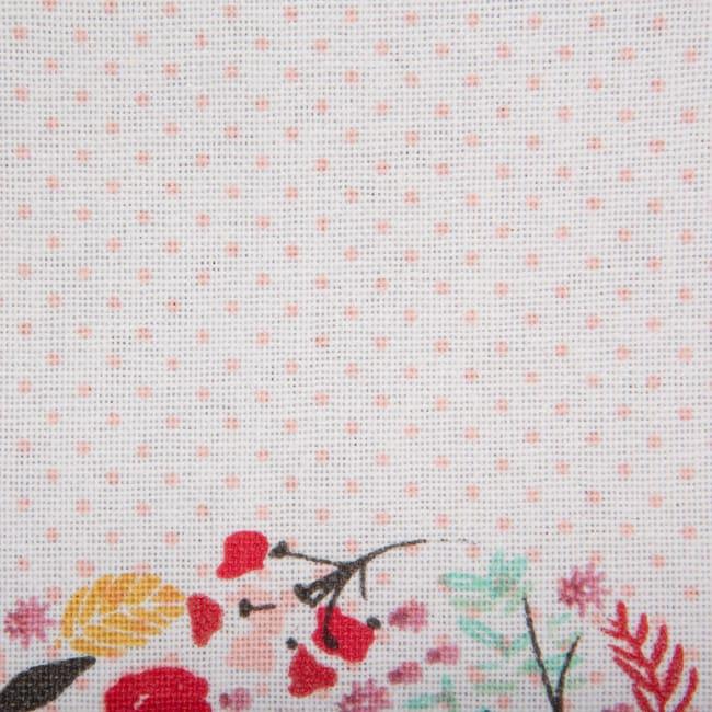Bon Apetit Sleur Heart Print Table Runner 14x72