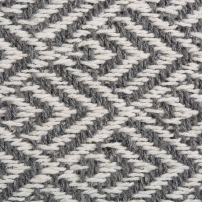 Gray Diamond Table Runner 15x72