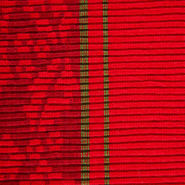 Holly Stripe Jacquard Table Runner 14x72