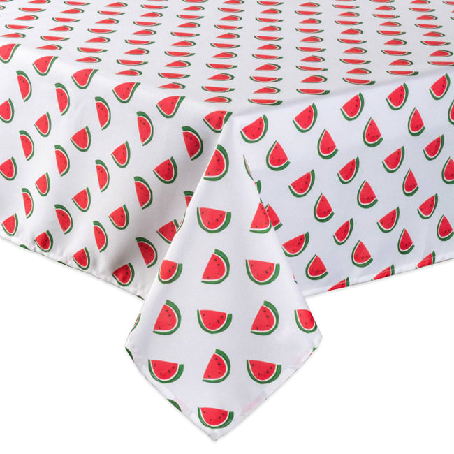 Watermelon Print Outdoor Tablecloth With Zipper 60x120