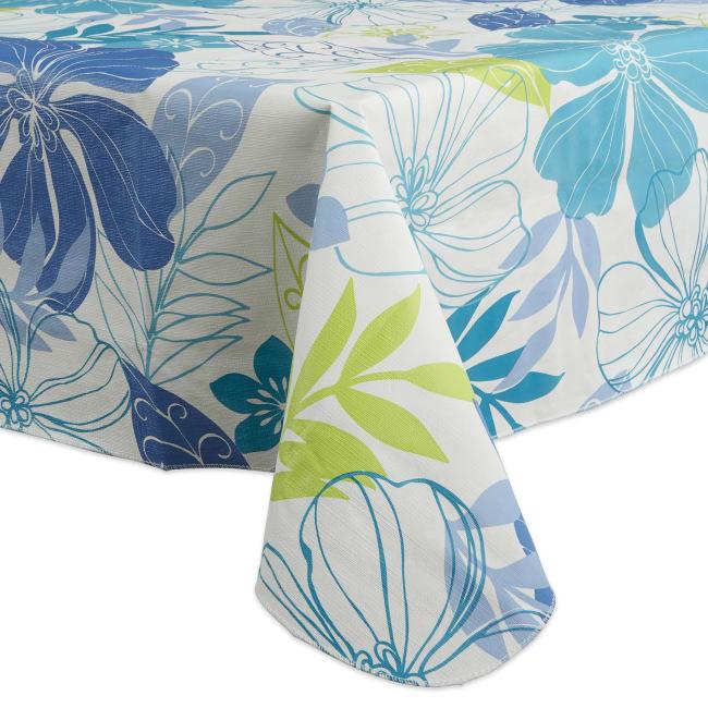 J&M Tropical Bahama Vinyl Tablecloth 60x102