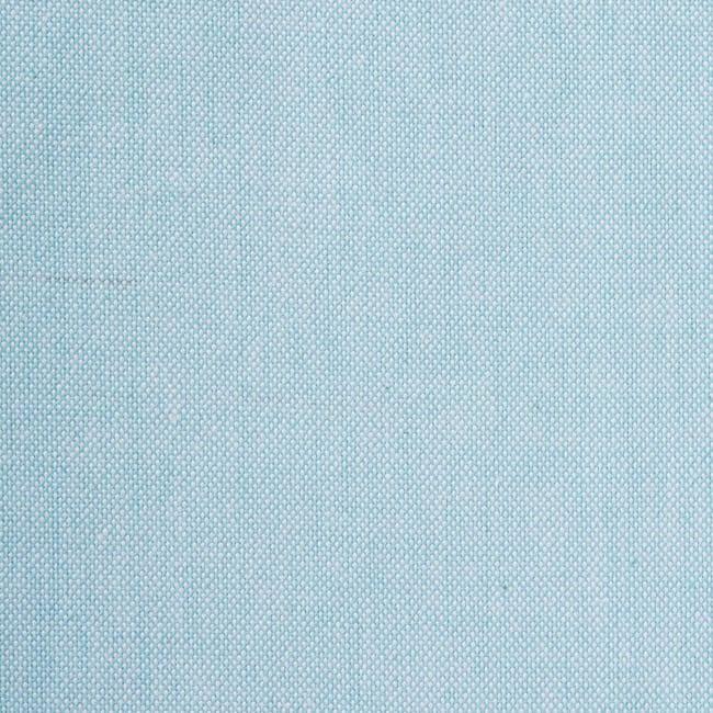 Aqua Solid Chambray Table Runner 14x72