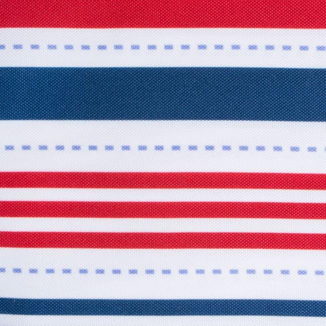 Patriotic Stripe Outdoor Table Runner 14x108