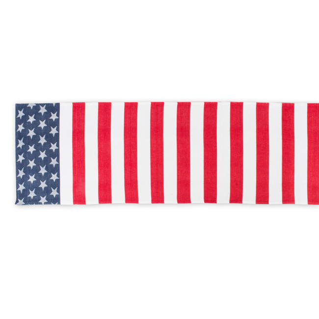 Stars and Stripes Table Runner 14x54