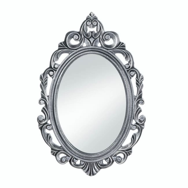 Silver Royal Crown Wall Mirror