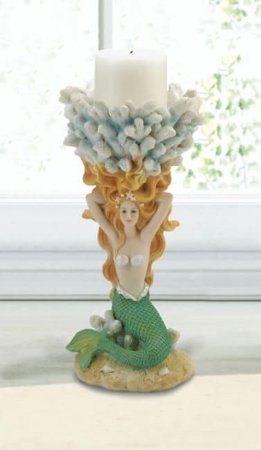 Grand Mermaid Candle Holder