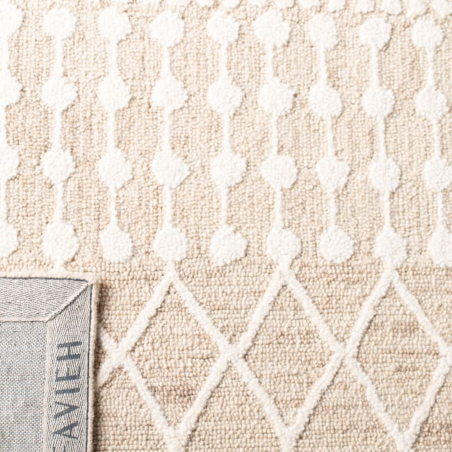 Safavieh Tan Wool Rug 3' x 5'
