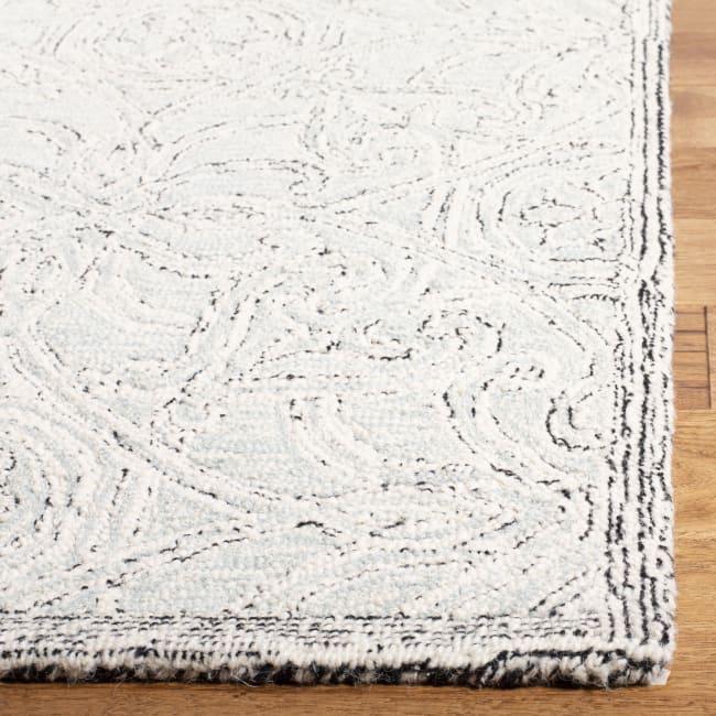 Safavieh Essence Gray Wool Rug 5' x 5'
