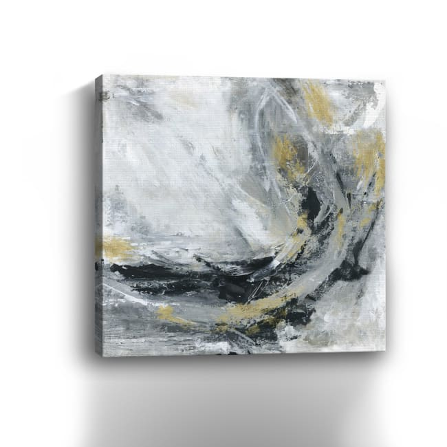 Storny Gold Canvas Giclee