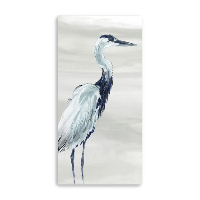 By The Sea Crane I Canvas Giclee