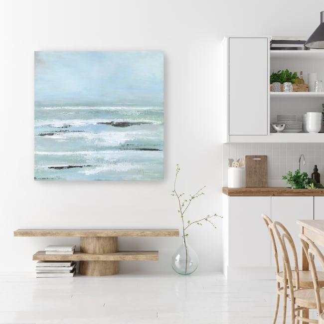 Misty Water Canvas Giclee
