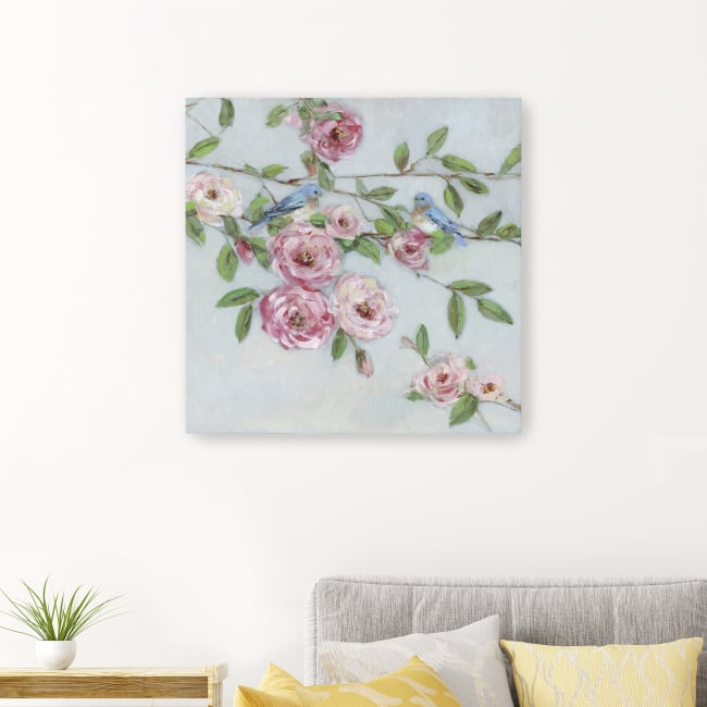 First Bloom I Canvas Giclee