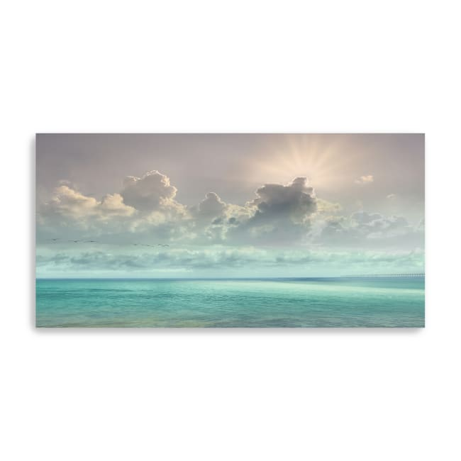 Caribbean Water Canvas Giclee