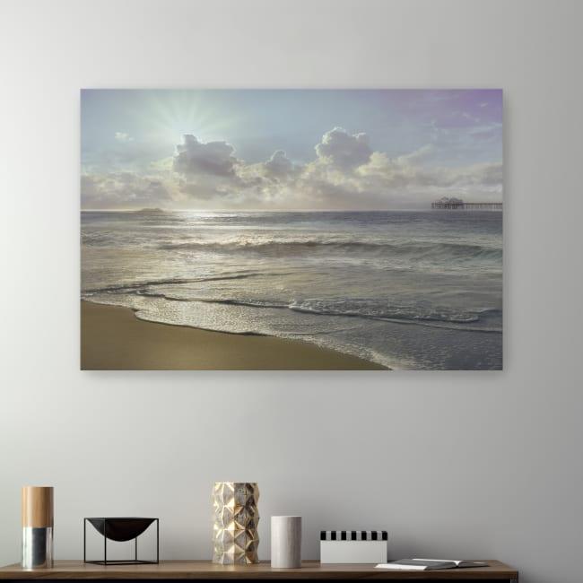 Westside Beach Canvas Giclee