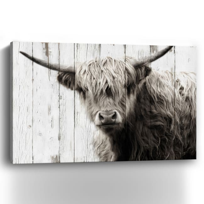 Highland Prize Canvas Giclee