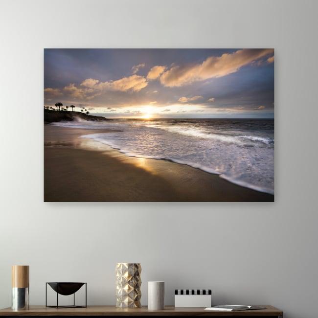 Sunset Beach Canvas Giclee