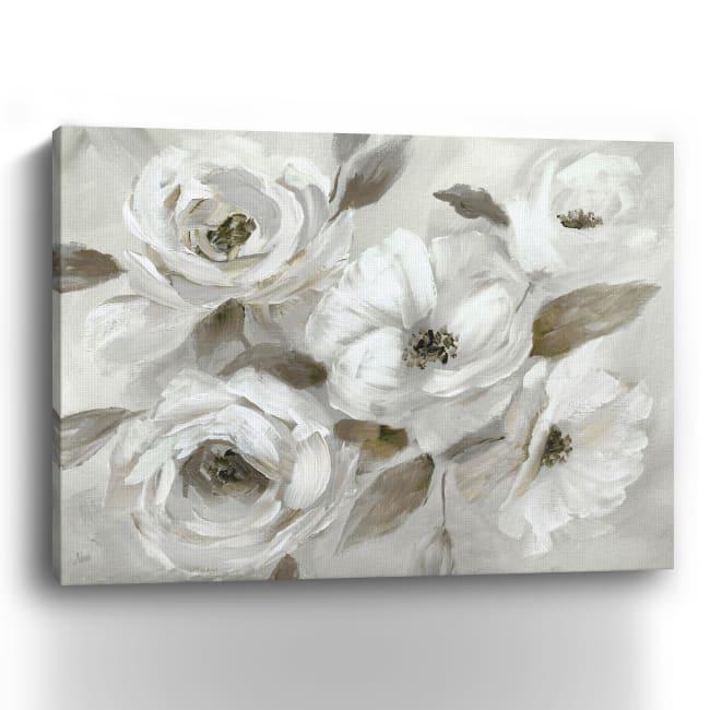 Winter White Canvas Giclee