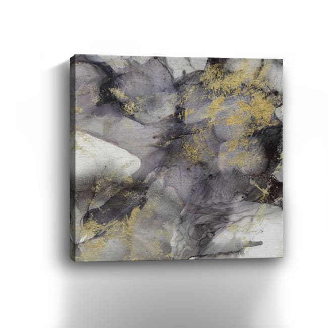 Marbled Aubergine I Canvas Giclee