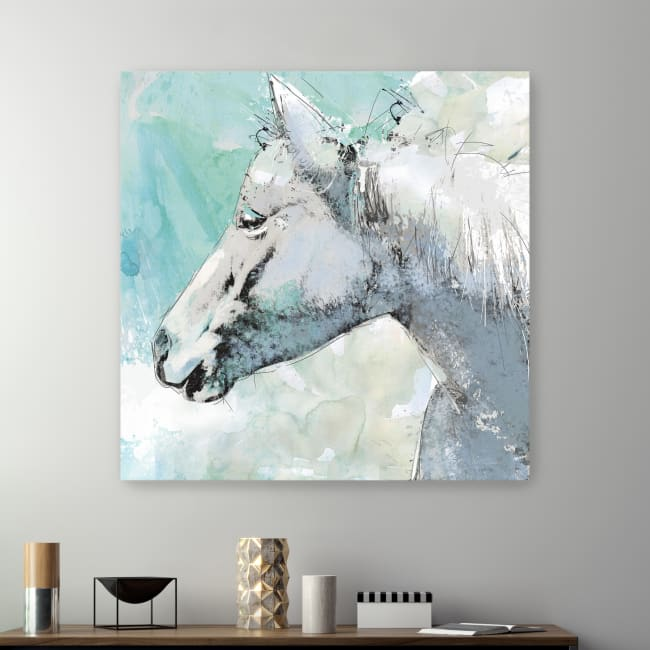 Happy Trails Canvas Giclee