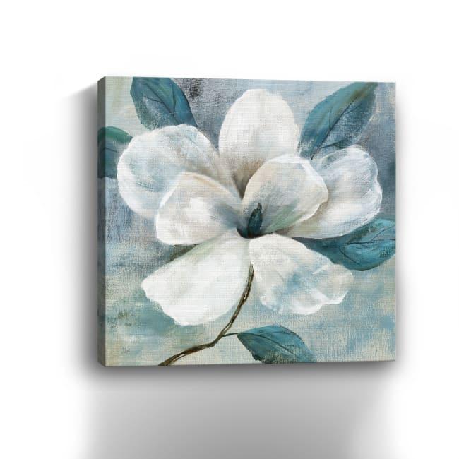 Teal Magnolia I Canvas Giclee