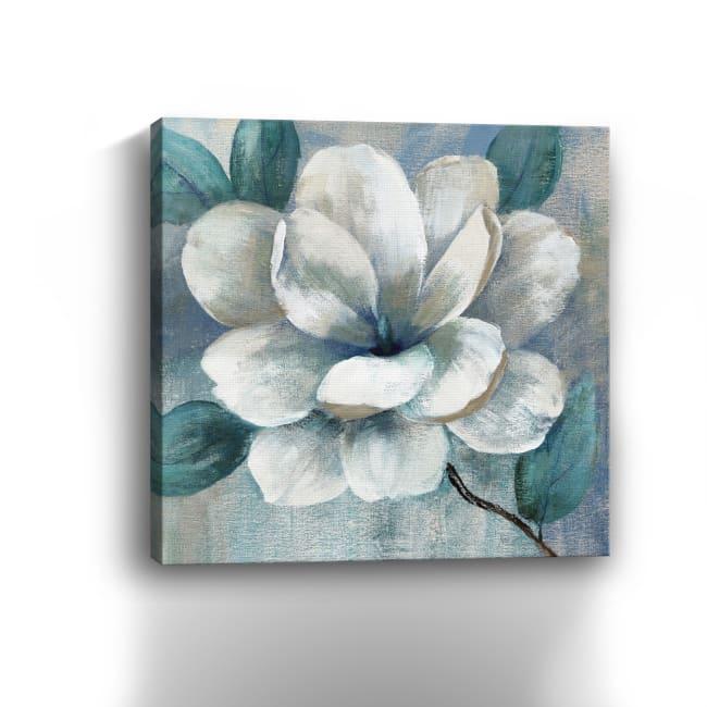 Teal Magnolia II Canvas Giclee