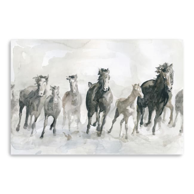 Running Wild Canvas Giclee
