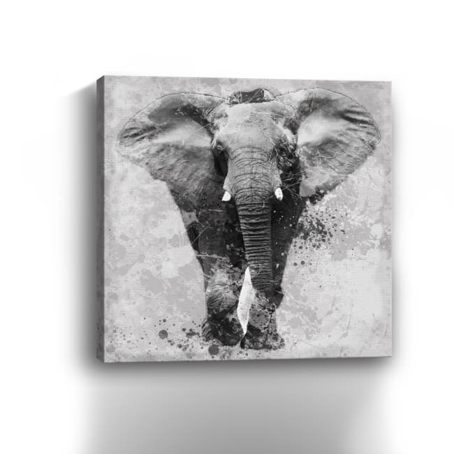 Proud Elephant Canvas Giclee
