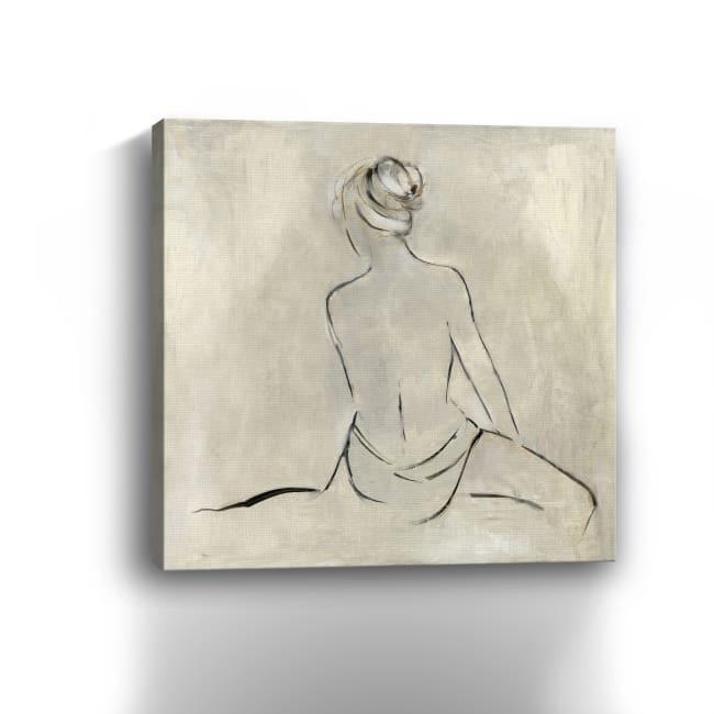 Bather II Canvas Giclee