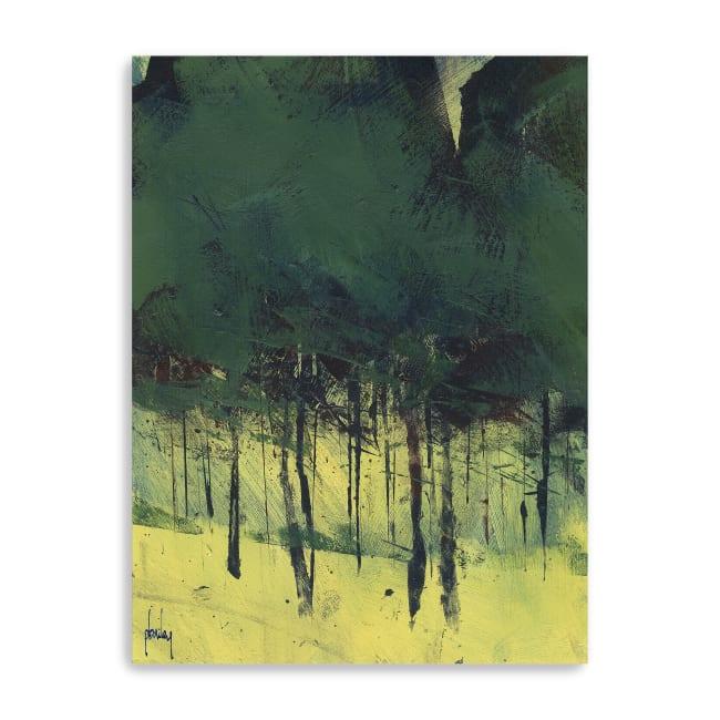 Pine Copse Canvas Giclee