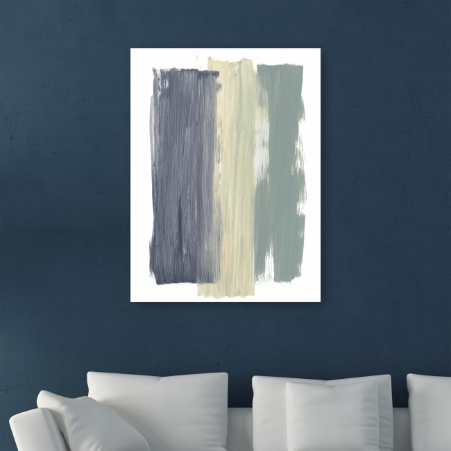 Striped Abstract Canvas Giclee