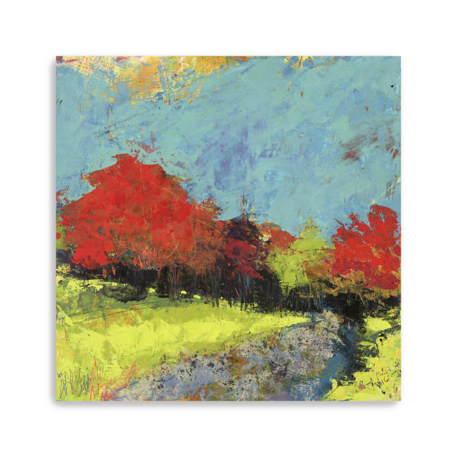 Morning Walk Canvas Giclee