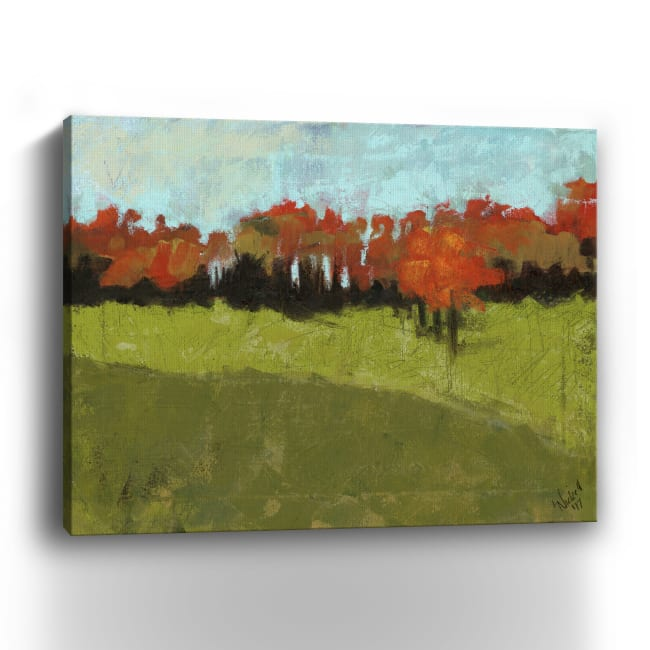 Waiting In Line Canvas Giclee