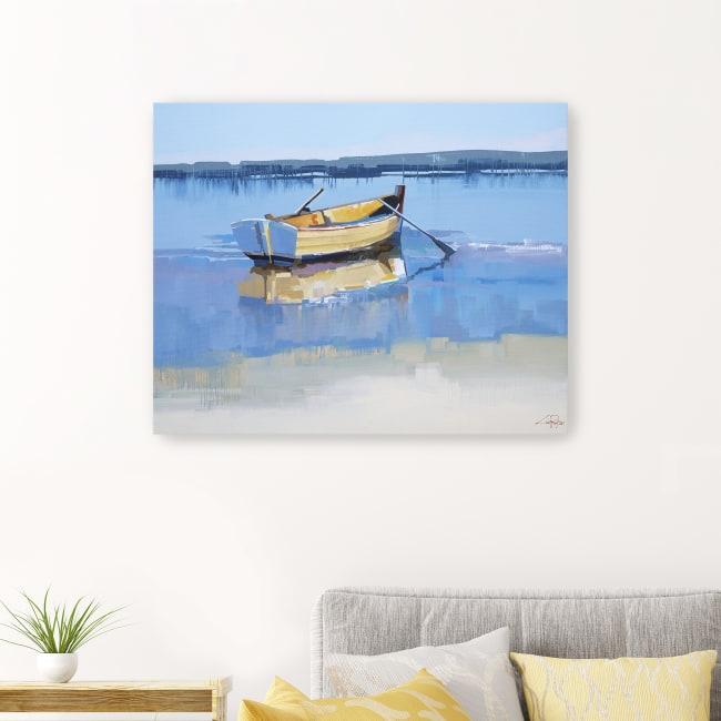 Aspendale Oars Canvas Giclee