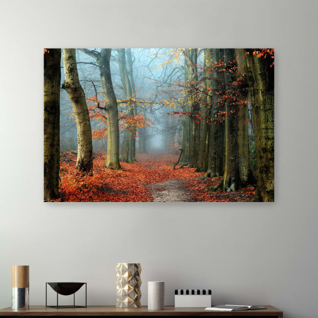 Bussum In Fall Canvas Giclee