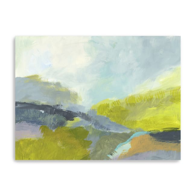 Between The Woods Canvas Giclee