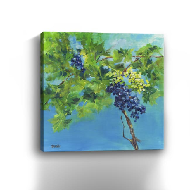 Juicy Grapes Canvas Giclee