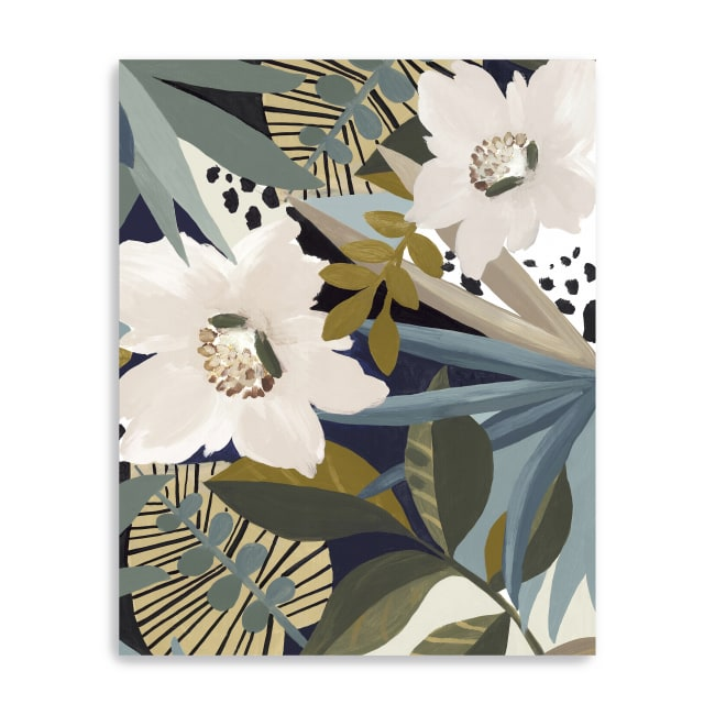 Floral Symphony II Canvas Giclee
