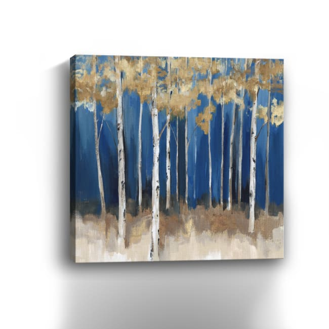 Midnight Indigo Canvas Giclee