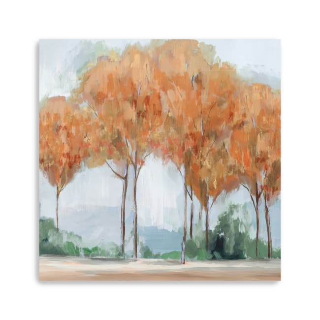 Coral Forest Canvas Giclee